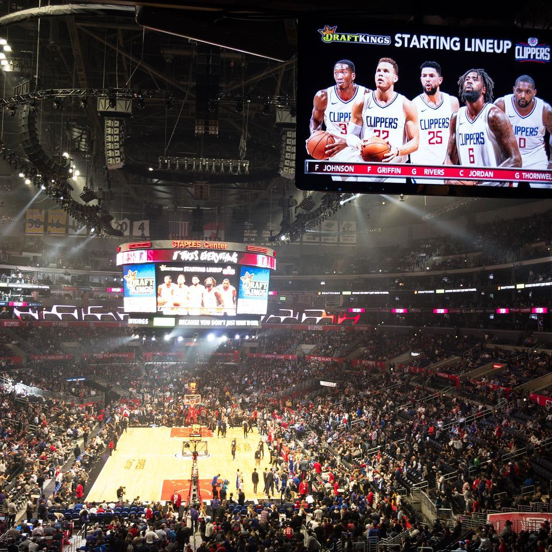Tonight's adventure #clippers #suite